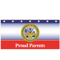 8'x4' Proud Parents Army Banner