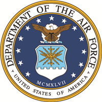 Air Force Seal Decal - Large