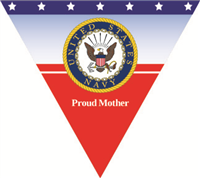 Proud Mother Navy Pennant