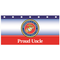6'x3' Proud Uncle Marines Banner