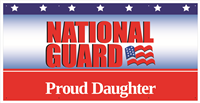 6'x3' Proud Daughter National Guard Banner